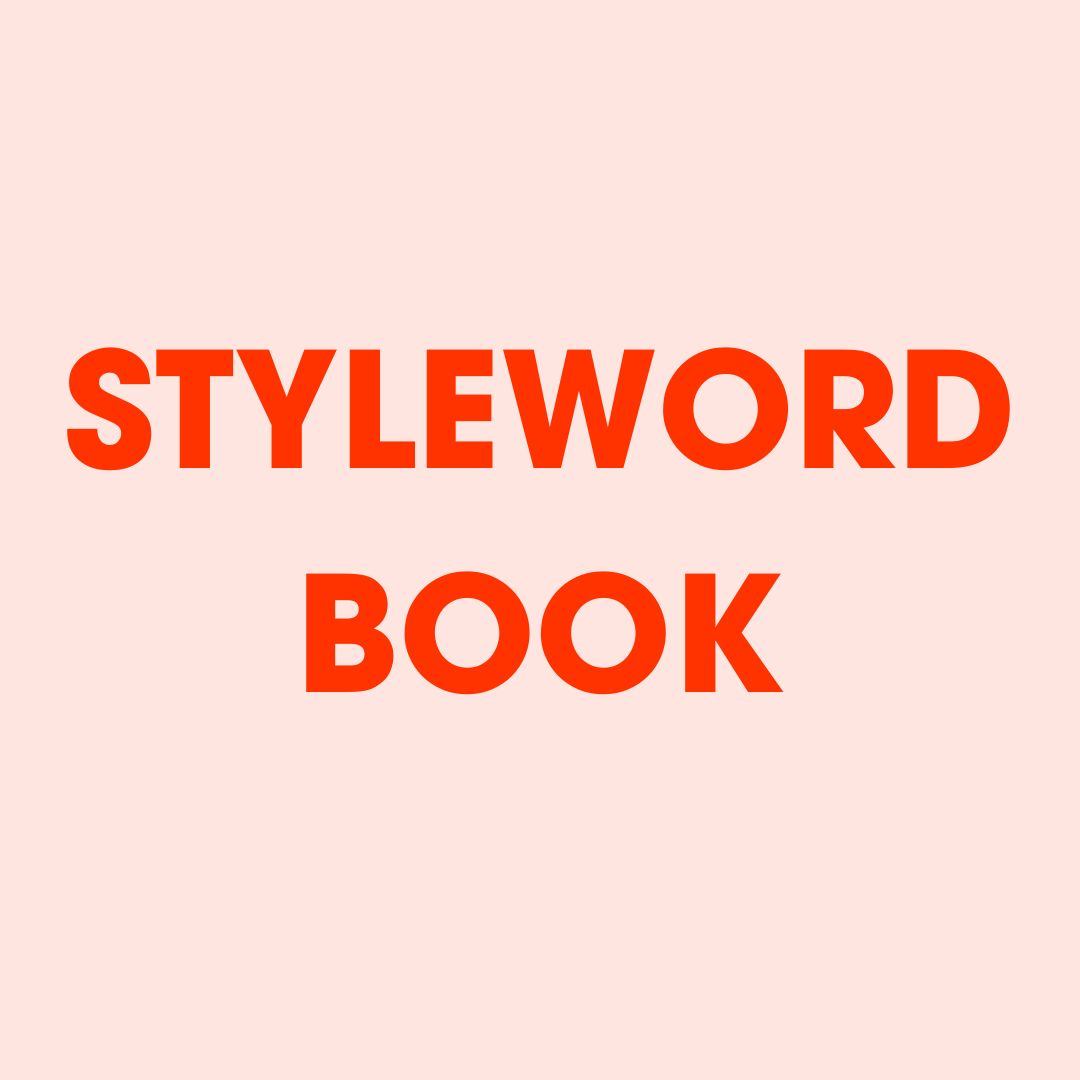 StyleWORD Book: Fashion Quotes For Real Style is the ultimate cheat sheet to upgrade your look with beauty tips, style snippets, and fashion quotes for solid