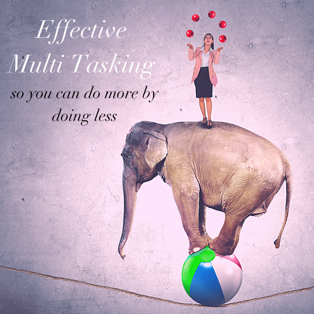 Do More By Doing Less - Effective Multitasking