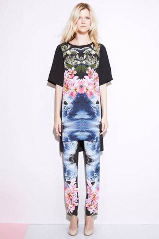 Stella McCartney Tropical Print Resort 2012
