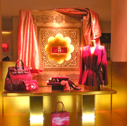 Hermes Paris Holiday Windows