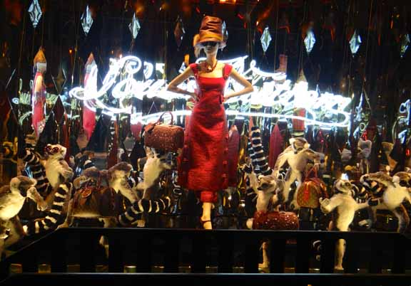 Galeries Lafayette Paris Holiday Windows