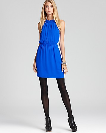 Theory Dress - Avrex Georgette at Bloomingdale's