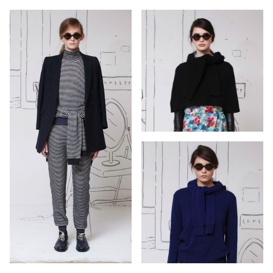 Band-of-Outsiders-Fall-2014-Trends-Tied-Sleeves-0