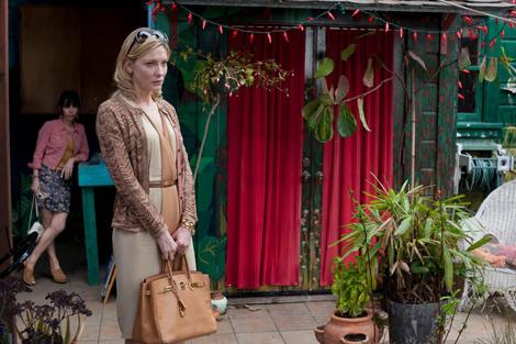 Cate Blanchette & her Birkin in Woody Allen's Blue Jasmine