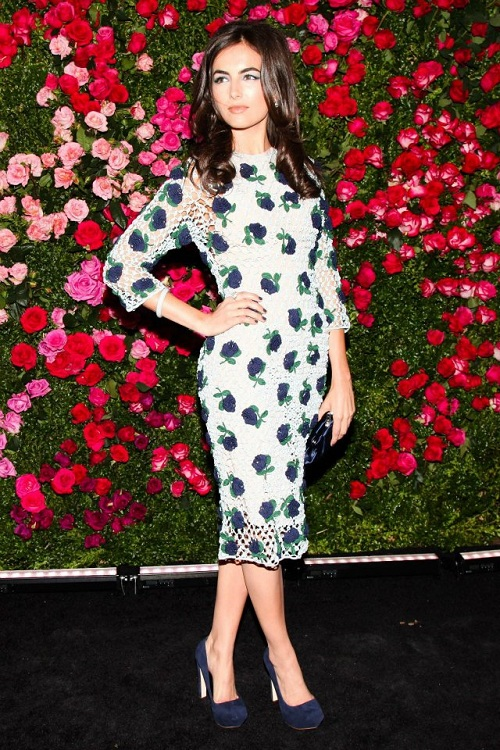 Camilla-Belle-Prada-Chanel-Floral-Spring-Dress