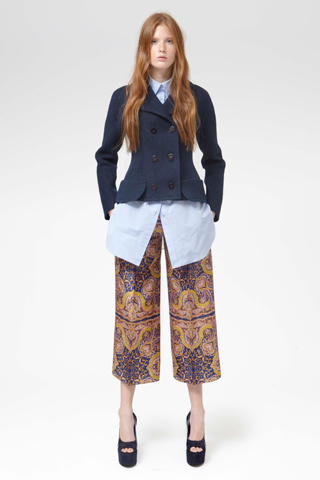 Carven-Resort-2013-Printed-Palazzo-Pants