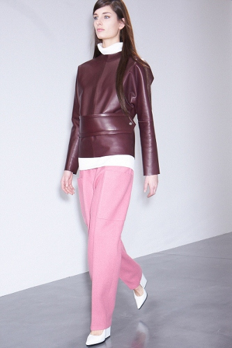 Celine-Fall-2012-Berry-Red-Color-Trend