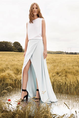 Chloe-Resort-2013-Minimal-Dress
