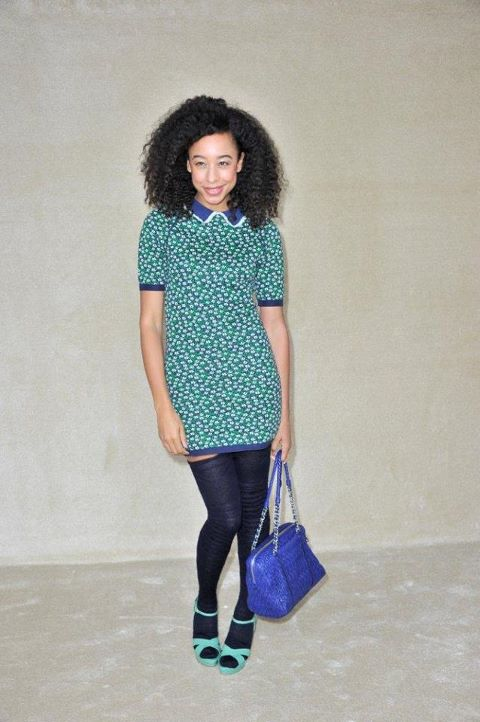 Corrine Bailey Rae in Miu Miu SS 12