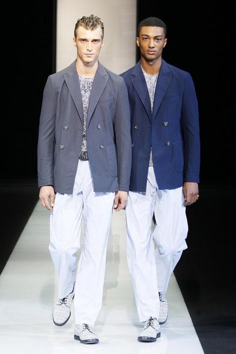Giorgio Armani Menswear Spring / Summer 2013