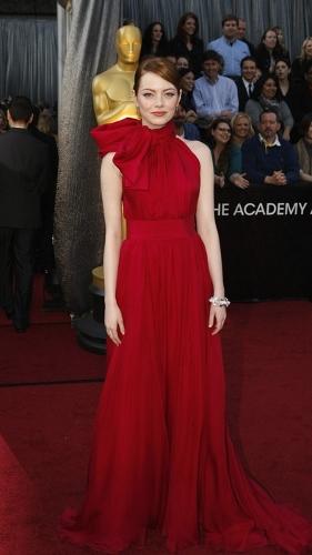 Giambattista Valli Emma Stone Oscars 2012