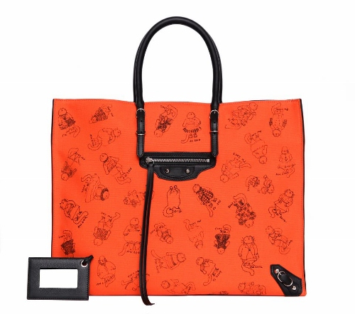 Grace-Coddington-Cats-Drawing-Balenciaga-Bag-2012