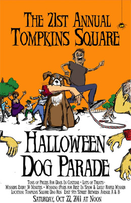 The 21st Annual Tomkins Square Dog Parade