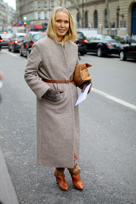 Belt Your Coat! Paris Fashion Week Street Style