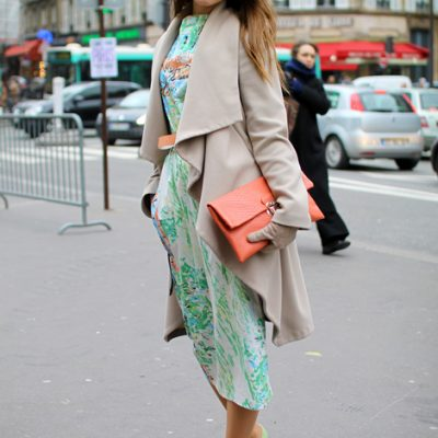 How to wear sophisticated pastels a la Paris street style