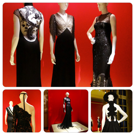Little Black Dress Exhibit, Mona Bismarck American Center