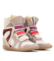 Isabel Marant Willow Sneakers in beige or black at myTheresa