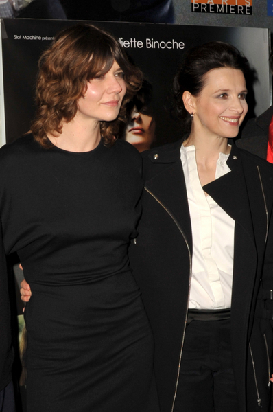 "Malgorzarta Szumowska and Juliette Binoche at the ""Elles"" Paris Premiere"