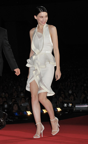 'The Girl with the Dragon Tattoo' Japan Premiere in Givenchy