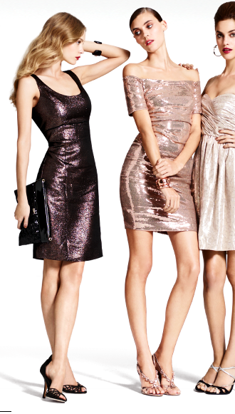 What to wear to the office Christmas party- dresses from Bloomingdales