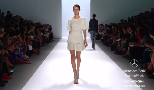 RICHARD CHAI SPRING 2013 FULL COLLECTION VIDEO