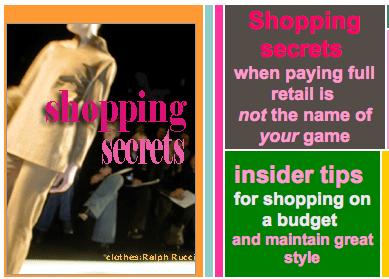 www.focusonstyle.com/shoppingsecrets.htm