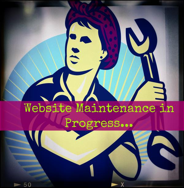 Website Maintenance on Progress 600