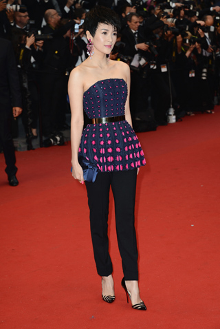 Zhang Ziyi at Cannes opening night