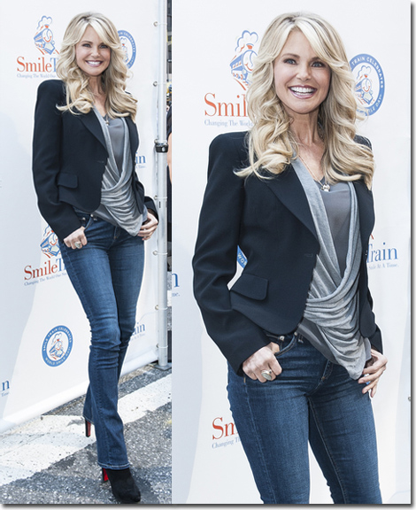 2012 Smile Train World Smile Day Hosted by Christie Brinkley