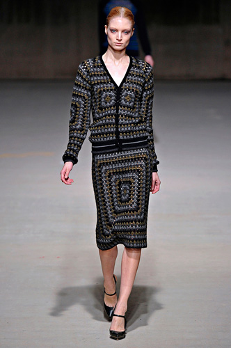 Christopher Kane Crochet Cardigan