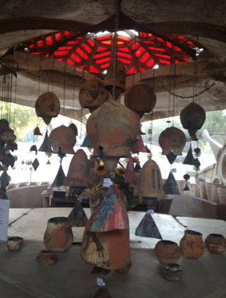 Art and architecture at one with nature at Cosanti