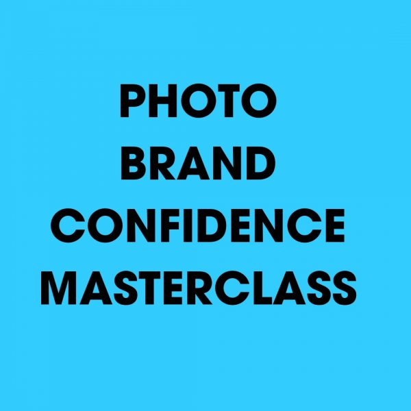 Photo Brand Confidence Masterclass: How To Create Your Own Magnetic Personality Brand Photos