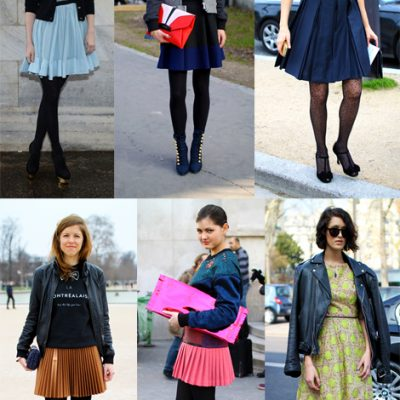 Transition to spring with a flippy shirt