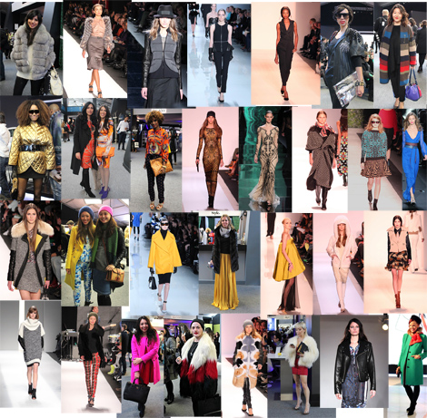 NYFW Street Style & Runway Trends Mashup- Fall 2013