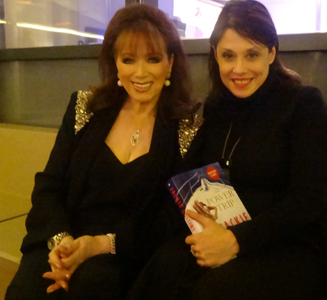 Jackie Collins and Sharon Haver