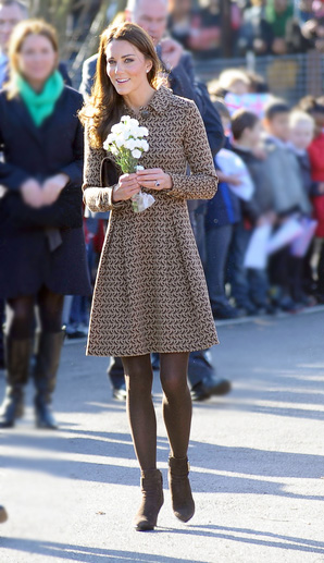 Kate Middleton, Catherine, Duchess of Cambridge looking dowdy