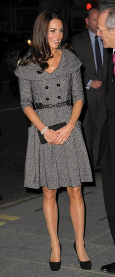 Catherine, Duchess of Cambridge Visits Lucian Freud Portrait Exhibition