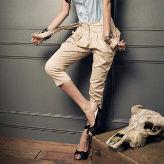 Khaki pants from asianscent.com
