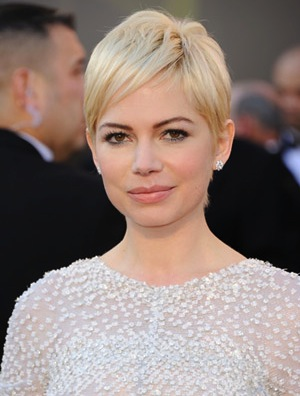 Michelle Williams and her pixie cut