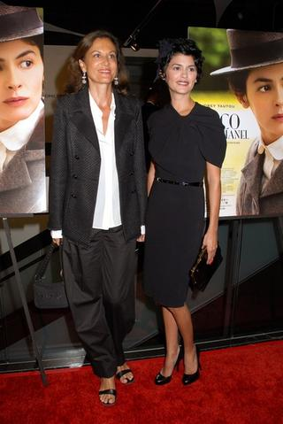 Anne Fontaine and Audrey Tautou -