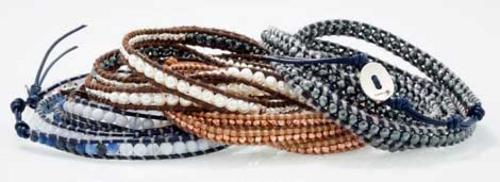 Banana Republic goes bah-nan-as with its first designer collaboration foray and limited-edition bracelets by Chan Luu are it!