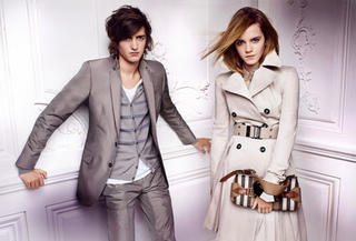 Still from Burberry spring ad campaign with Emma Watson