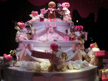 Christmas Windows Paris- Galeries Lafayette & Printemps