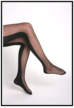 Two-Faced Tights: Get them while they're hot!