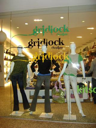 Gridlock Denim at Kitson, L.A.