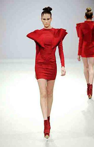 London Fashion Week Emilio De La Morena Fashion Show