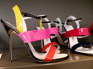 Manolo Blahnik spring 2010 shoe collection at Maria Luisa