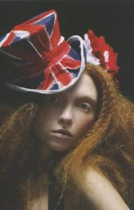 Union Jack Top Hat from Stephen Jones