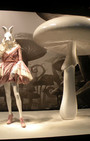 Printemps Paris Alice in Wonderland store windows salute fashion and whimsy