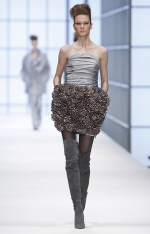 The new Hugo Boss Collection Womenswear at Mercedes-Benz Fashion Week Berlin - fall / winter 2010
